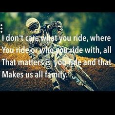 For the sweet love of MOTOCROSS! Our ultimate list of motocross quotes are dirty, funny, serious and always true. Check out our favorite motocross sayings Motocross Funny, Motocross Quotes, Dirt Bike Quotes, Motocross Love, Motocross Girls, Bicycle Quotes, Racing Quotes, Biker Quotes, Dirt Bike Racing