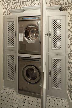 Ventilated laundry doors