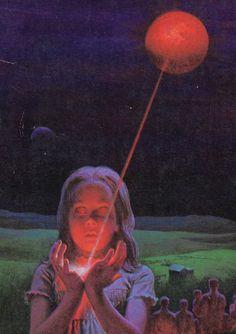 cover of The People: No Different Flesh by Zenna Henderson Retro Kunst, Retro Art, Arte Horror, Horror Art, Fantasy Kunst, Fantasy Art, 70s Sci Fi Art, Futuristic Art, Vintage Horror