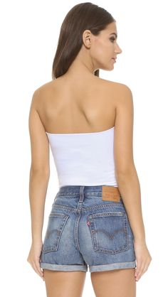 de81ed33bc3 Buy Susana Monaco Women s White Tube Top