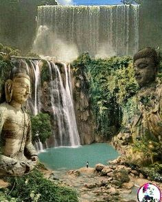 #art #artoftheday #fantasy #cakkocem #wallpaper #landscape #budha #waterfall  #cliff  #rocks  #scuplture  #sculpturart #picture #image #editor #photomafia #photography  #photomanipulation #manipulation #imagemanipulation #imagination #manipulationclan #ig_world #ig_europe #ig_worldclub #igdaily #igdailytoday #creative #surreal #surrealphotography #lumixmasters