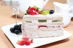 Kiwi Crape Cake  Client: Zugarnos