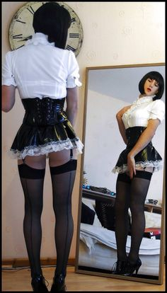Sissy, you're so perfect, that you will not have alternatives !!! From now on you will only and exclusively a perfect Sissy Maid !!!! (Chloe Sissi)