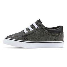 Toddler Boys' Hiram Canvas Sneakers Cat & Jack™ - Grey : Target