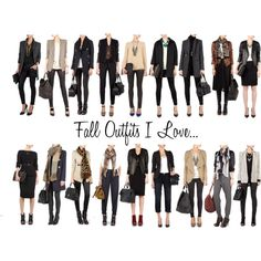 Love capsule wardrobes....