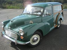 Car No.25. Morris Minor 1000 Traveller. Bought this for Jacqui to use. Spent some time redoing the woodwork and respraying it, a blue/green, but it was used daily, and we all loved it. Great little bit of history, would like another one.