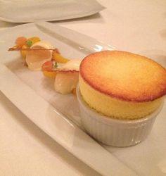 How soufflé should be ...at Pegasus Poperinge