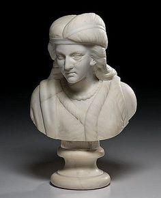Edmonia Lewis - Bust of Minnehaha, 1868