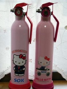 Hello Kitty Fire Extinguisher