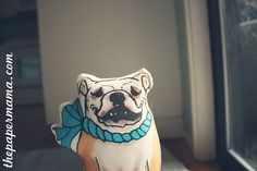 New English Bulldog Stuffy in the Paper Mama Shop!