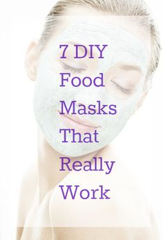 7 DIY Food Masks That Really Work - When the power goes out, you have two options when it comes to the food in your fridge: Eat it or put it to good use. We vote for the latter with these DIY face mask recipes.