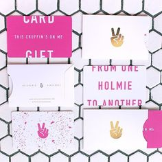 These bakery packaging ideas take baked goods to a whole new level. From elegant to playful, there's a design here for everyone! Mr Holmes Bakehouse, Business Card Fonts, Levain Bakery, Tiny Shop, Bakery Packaging, Tree Branches, Typography Design, Pop Up, Things To Come