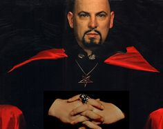 ¿Quién fue Anton LaVey?...Nor this man. Didn't one his wives like marry one your family members ??? Humm