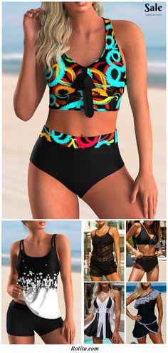 Cool Outfits, Summer Outfits, Fashion Outfits, Beachwear Fashion, Bikini For Women, Bikini Outfits, Clothing Sites, Swim Dress, White Fashion