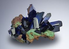 Azurite & Malachite from Namibia