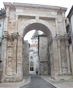 Roman gate, Besancon France