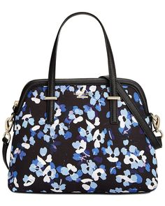 You need to see this kate spade new york Cedar Street Floral Maise Leather Satchel on Rue La La.  Get in and shop (quickly!): https://www.ruelala.com/boutique/product/101692/32977704?inv=lowens96&aid=6191