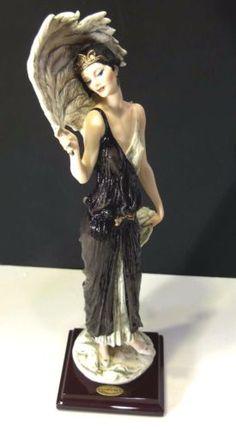 Details about Giuseppe Armani Figurine Desiree - Redemption Piece 1999 . Porcelain Jewelry, Fine Porcelain, Porcelain Ceramics, Ceramic Art, Mark Keller, Dresden Dolls, Doll Tattoo, Pottery Vase, Sculpture Art