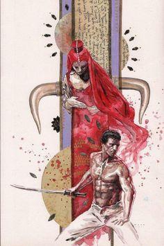 Immortals cover by David Mack *