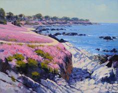 """Sneak Peek: """"Pacific Grove"""" by Michael Situ - #LPAPA16th Gallery Library October 18th & 19th #IndulgeYourPleinAirPassion lagunapleinair.or..."""