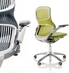 Knoll Generation Chair. I have one in pink. :)
