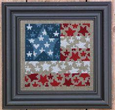 Bent Creek - Flag of Stars - Zipper Kit