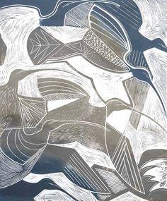 artpropelled: Curlews by Tessa Charles