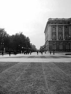 Madrid, Spain, outside the royal palace