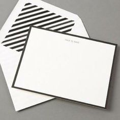 """FINAL HOUR! [Kate Spade]♠️ """"Talk is Chic"""" Cards 10 cards with matching envelopes. New in Original box. kate spade Accessories"""