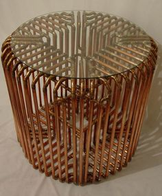 Sculptural Copper Pipe Furniture by TJ Volonis