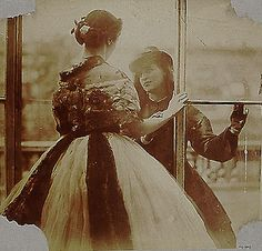 Study from Life - Lady Clementina Hawarden - 1860  (These are her daughters - Clementina Maude and Isabella Grace)
