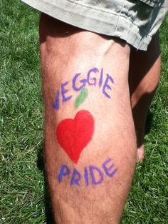 Veggie Pride (leg)