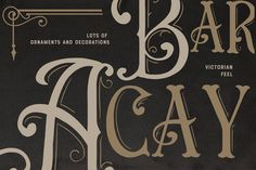 Ad: Troemys Font Trio and extras by BlackCatsMedia on Troemys is a trio font with a vintage, Victorian feel with lots of decorative elements, both in font format and Vector and PNG. 6 logos are Vintage Fonts, Vintage Lettering, Otf Font, Character Map, Font Setting, Typography Fonts, Premium Fonts, Coreldraw, New Fonts