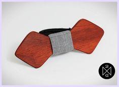 accessoire homme noeud papillon en bois original / publié par withalovelikethat.fr