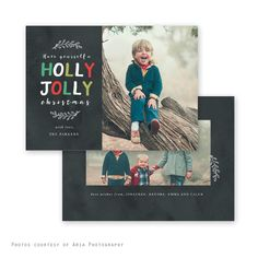 Holly Chalk - Christmas card - baby announcement- Offered through Jen Boutet Photography in Charlottesville, Va.
