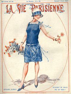 1920s La Vie Parisienne Magazine - Cherie Herouard, illustrator