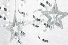 silver christmas decorations - Bing Images