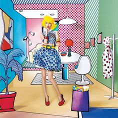 75 Best Editorial Pop Art Images On Pinterest Ladies Fashion Pop