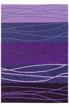 Shaw Loft Cadential Purple Rug