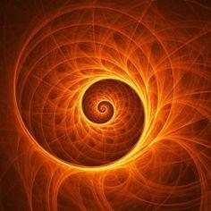 Fabulous spiral, or Fabonacci Sequence