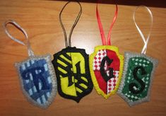 Harry Potter Felt Ornaments by ThirteenthMuse.deviantart.com on @DeviantArt