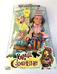 Bratz Yasmin Campfire Doll New with Accessories Rare