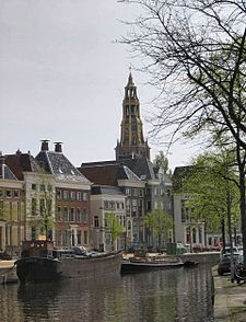 Groningen (Dutch pronunciation: [ˈɣroːnɪŋə(n)] ( listen); Gronings: Grunnen; West Frisian: Grins) is the main municipality as well as the capital city of the eponymous province in the Netherlands. With a population of 197,823 (in 2014), it is the largest city in the north of the Netherlands. An old city, Groningen was the regional power of the northern Netherlands, a semi-independent city-state and member of the German Hanseatic League.