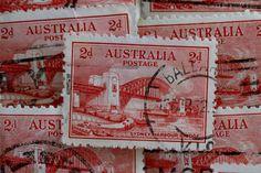Australian 1932 Sydney Harbour Bridge Commemorative Postage Stamps