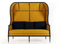 Upholstered 2 seater fabric sofa Igloo sofa Laval Collection by STELLAR WORKS | design OeO