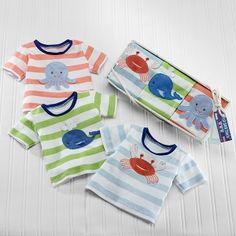 Deep Sea Tees Ocean Baby T-Shirt Gift Set