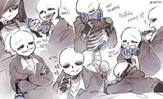 Read GAS from the story AU'S Sans Is The Type Of. Temporada by lilasbell (__Zetita :D__) with 765 reads. Undertale Comic Funny, Anime Undertale, Undertale Drawings, Undertale Ships, Undertale Cute, Frans Undertale, Anime Drawing Styles, Toby Fox, Drawing Expressions