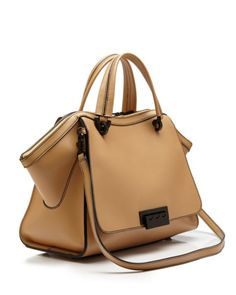 ZAC Zac Posen Satchel - Eartha Iconic Soft Double Handle Colorblock | Bloomingdales's
