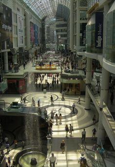 "Toronto Eaton Centre is the #1 retail destination and a ""must see"" tourist attraction. Over 230 retailers, restaurants, and services. Or, just visit for the world-class architecture, culture, and urban atmosphere."