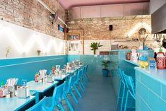 Restaurante azul Phamily Kitchen em Melbourne